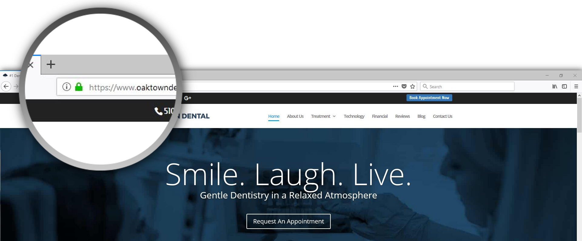 Velocity Practice Communication Management - Dental Website Hosting - SSL Certificates